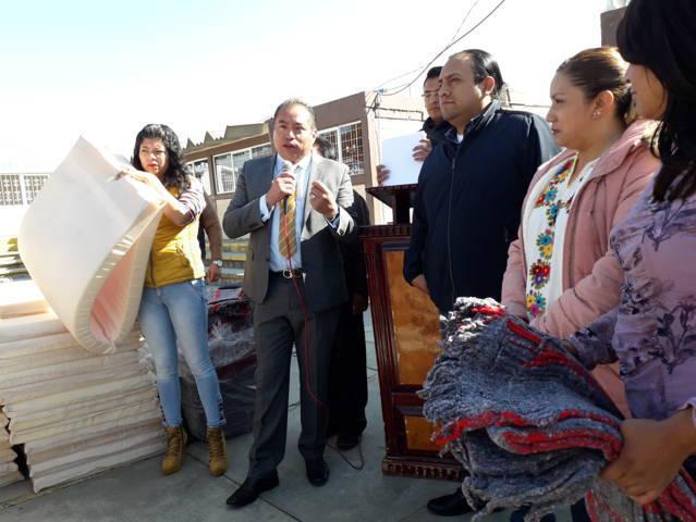 Ayuntamiento y CEPC apoyan a grupos vulnerables a mitigar el frio con insumos
