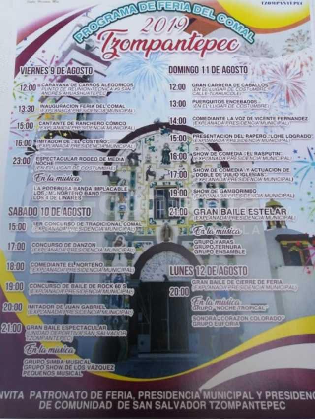La Feria del Comal 2019 llega del 9 al 12 de agosto con muchos eventos: alcalde