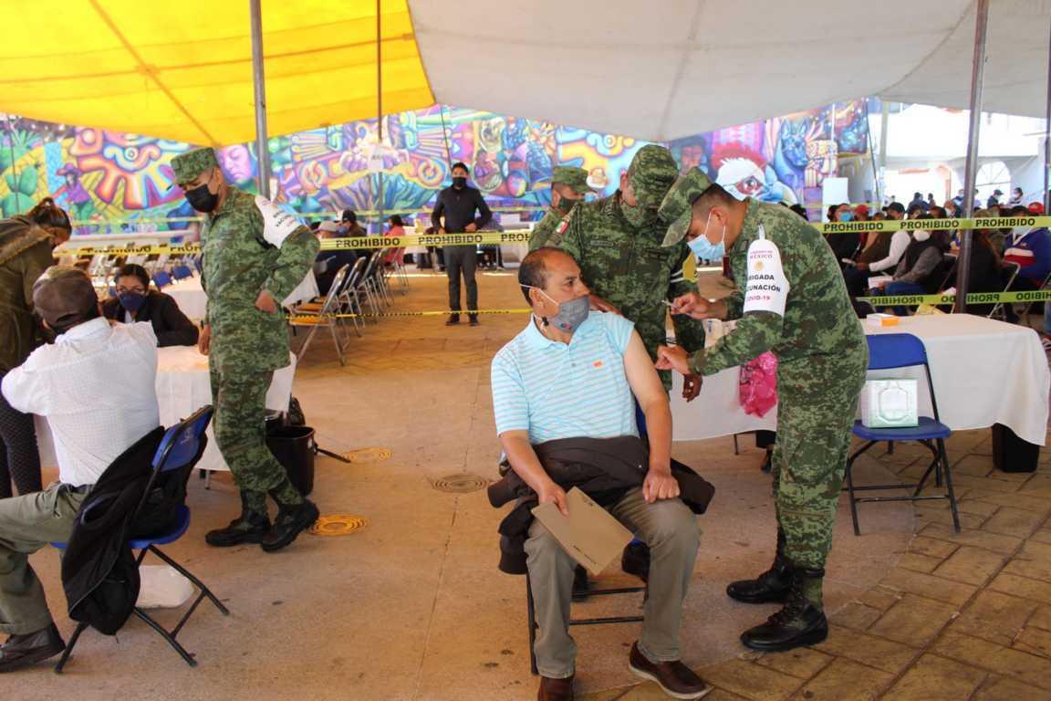 Tepetitla de Lardizábal: Jornada de vacunación contra Covid-19 a personas de 50 a 59 años de edad