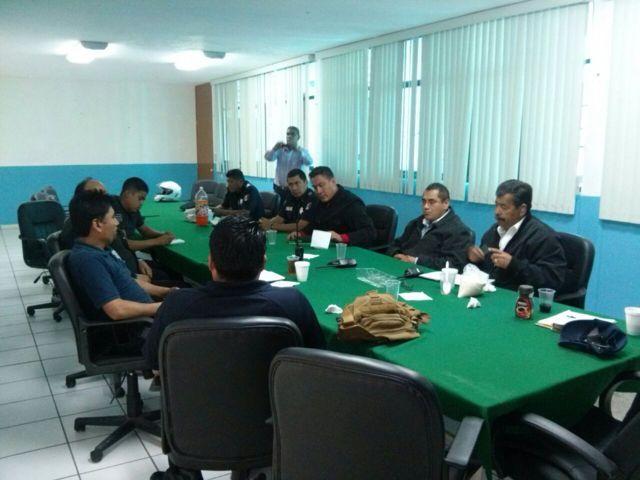 Totolac es sede de reunión intermunicipal de seguridad pública