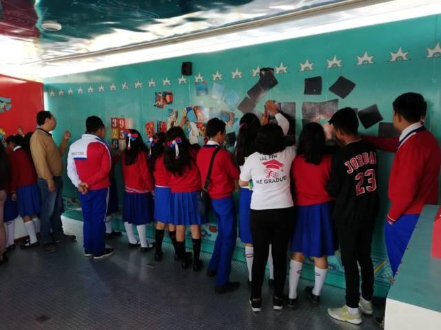 Ayuntamiento y la Politécnica de Tlaxcala llevaron el Tráiler de la Ciencia
