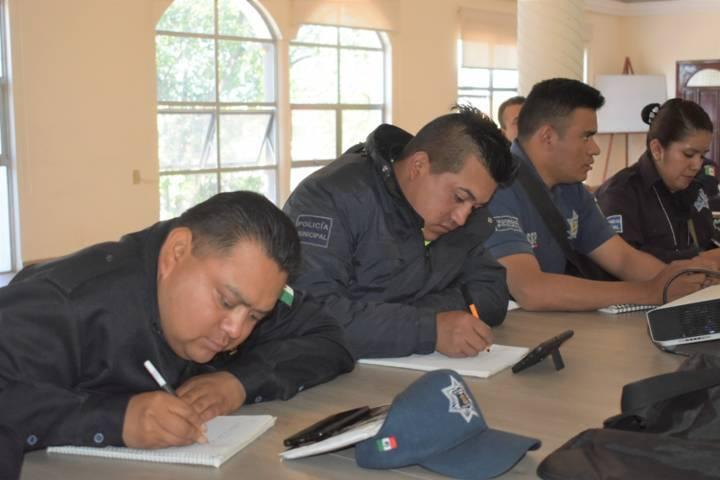 Ayuntamiento profesionaliza a su policía en protocolos de 1er respondiente