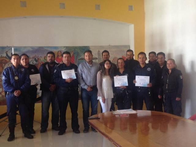 Recibe Policía de Xicohtzinco taller de Masculinidad y Buen Trato