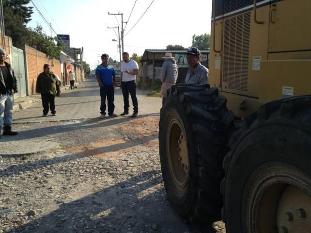 Realizan trabajos de mantenimiento y prevención de inundaciones en Xicohtzinco