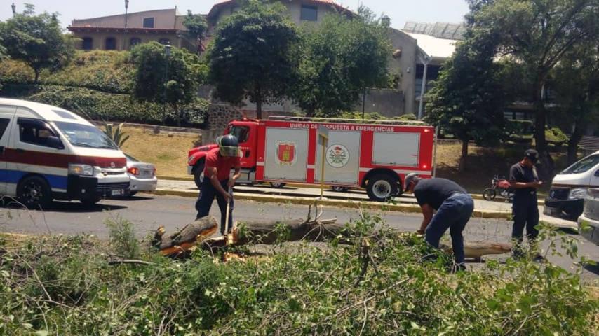 Bomberos atienden alertas emitidas por el servicio de emergencias 911