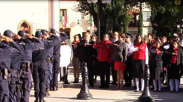 Conmemoran 31 Aniversario del día Nacional de Protección Civil