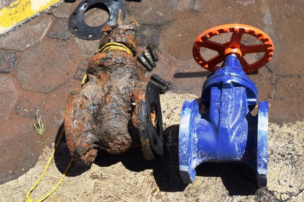 Inicia mantenimiento a la red de agua potable en Panotla: Eymard Grande
