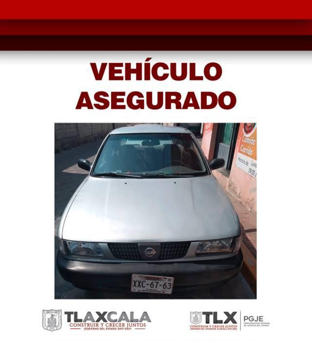 Recupera PGJE vehículo robado en Puebla