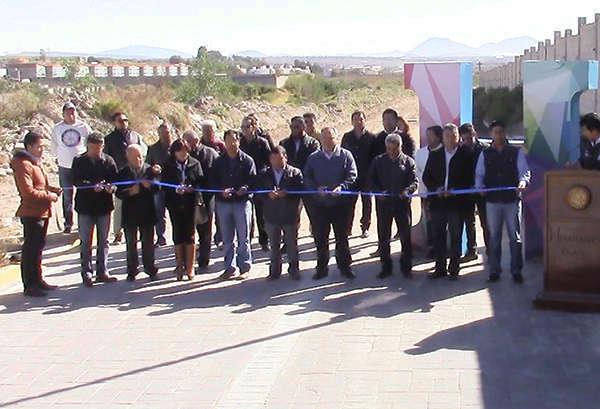 Inaugura Alcalde de Huamantla obra de drenaje sanitario