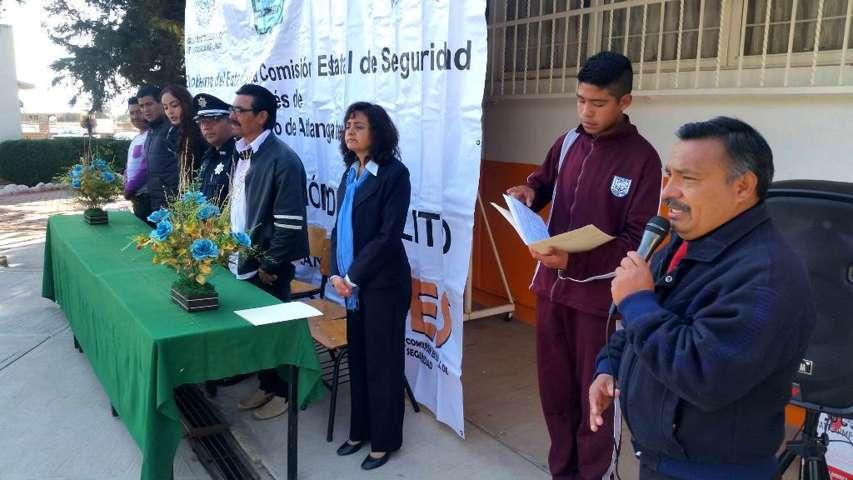 Inaugura CES segunda semana de prevención del delito en Atlangatepec