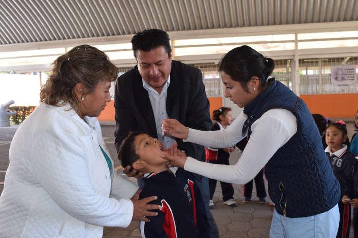 Arrancó la primera semana nacional de salud en Panotla