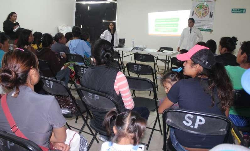 Promueve SEDIF pláticas de nutrición en Tepetitla