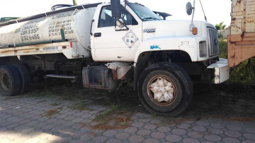 Policía de Xicohtzinco pone a disposición vehículo abandonado