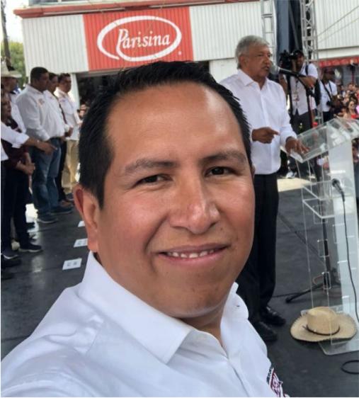 Agreden con un cuchillo al candidato de Morena en Huamantla