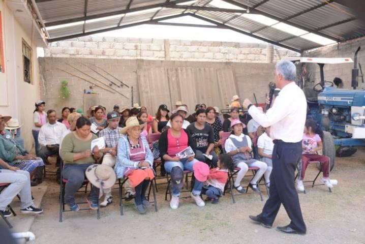 Mejorará Gelacio Montiel Fuentes las condiciones de los Centros de Salud en Tlaxcala