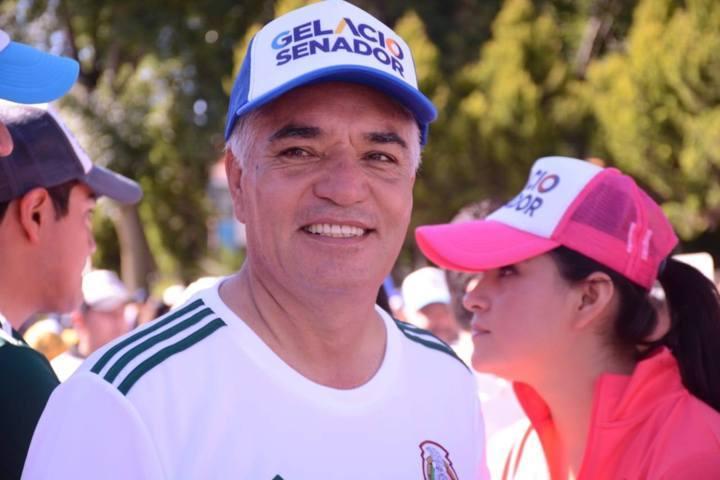 Yo juego a ganar esta elección: Gelacio Montiel Fuentes