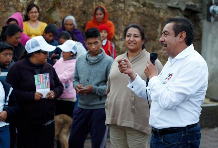 Con apoyo de mujeres Florentino Domínguez será el próximo Senador de Tlaxcala