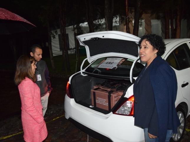 Inicia distribución de paquetes para elección de diputaciones locales