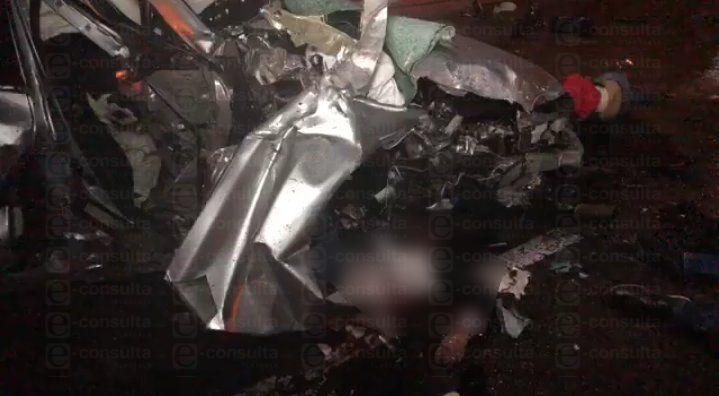 Mueren jóvenes en trágico accidente en la carretera Tlaxcala- Apizaco