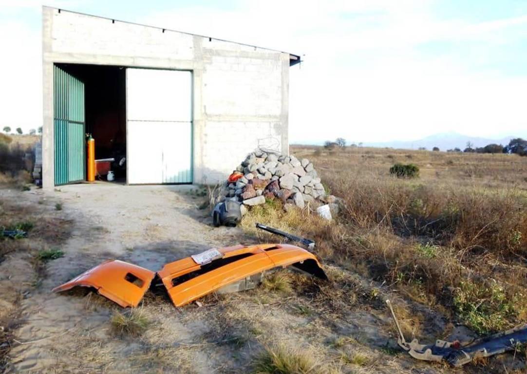 La CES asegura un inmueble y una unidad robada en Huamantla