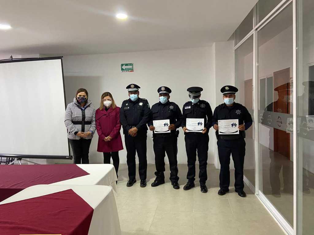 Policías de SPM son felicitados por evitar un homicidio