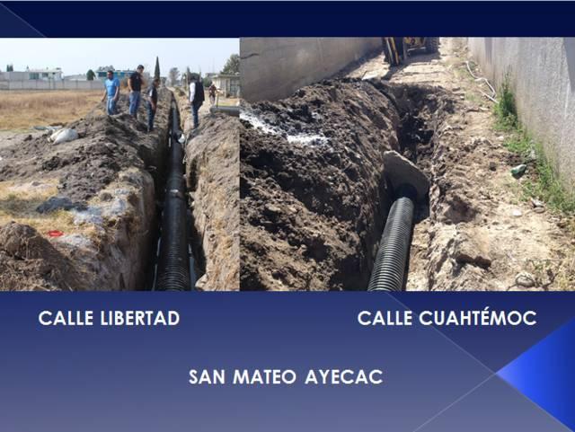 Supervisa alcalde de Tepetitla avance de obra pública