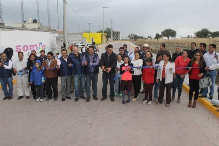 Con la suma de voluntades logramos mejorar la calle San José: alcalde