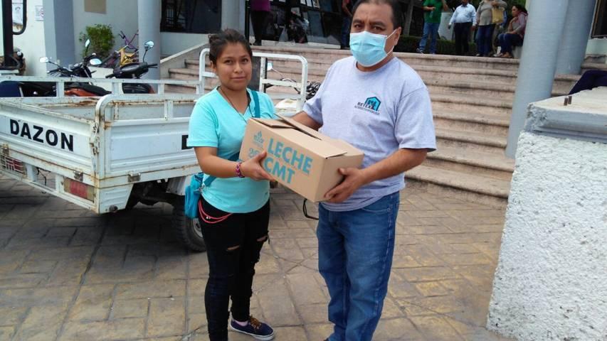 93 familias de Lardizábal son beneficiadas con insumos a bajo costo