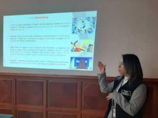 Imparten videoconferencia para prevenir delitos cibernéticos y ciberbullying