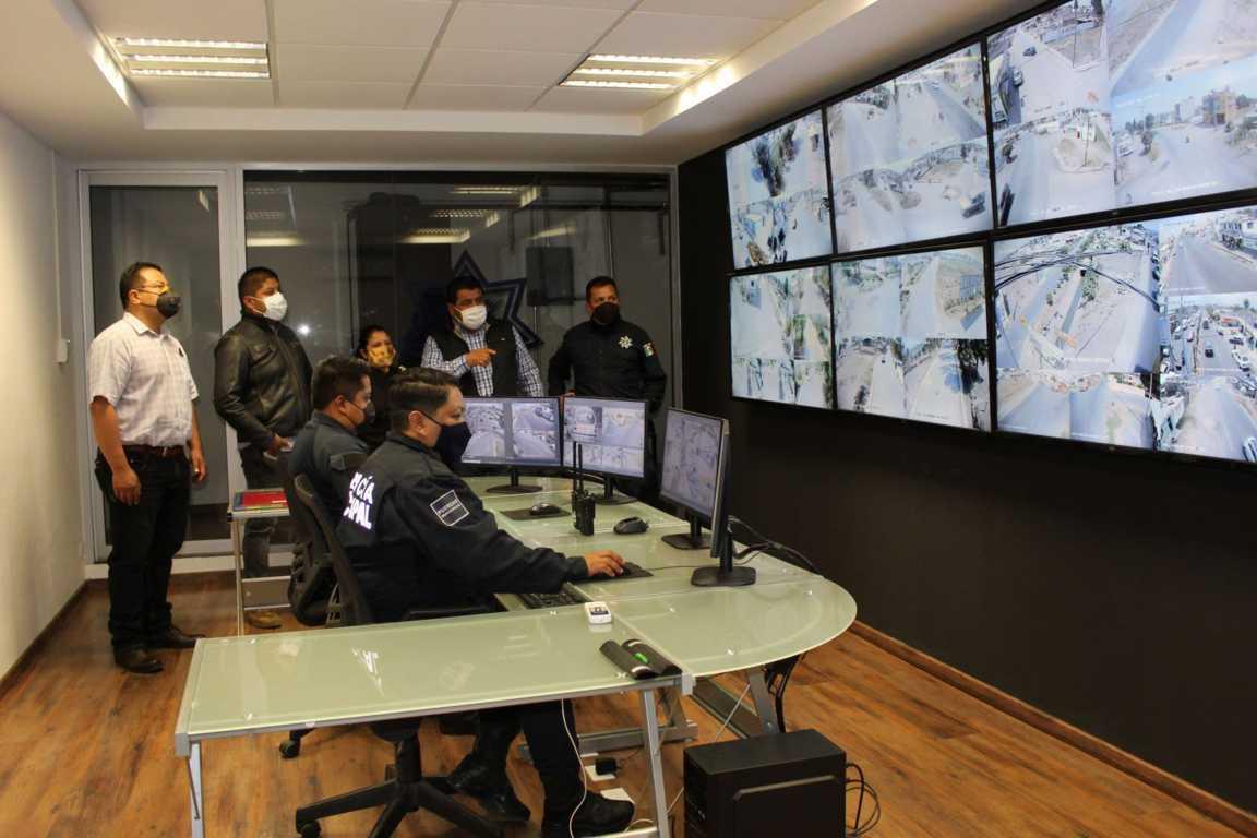 Disminuye en un 80 % inseguridad en Tepetitla por Sistema de Video-Vigilancia