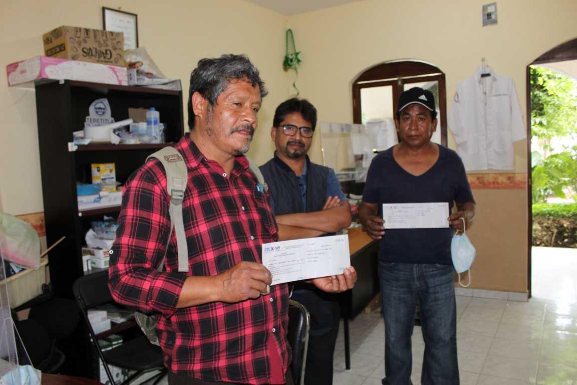 Familias de Tepetitla de Lardizábal serán beneficiadas con casi 1.5 mdp en material para construcción de infraestructura básica