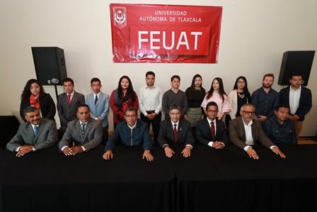 Rinde protesta comité de la Federación de Estudiantes de la UAT