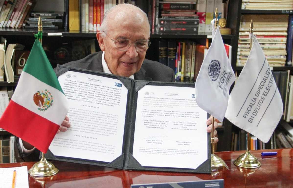 Firma convenio fiscalías de CDMX, EdoMex, Morelos, Puebla y Tlaxcala