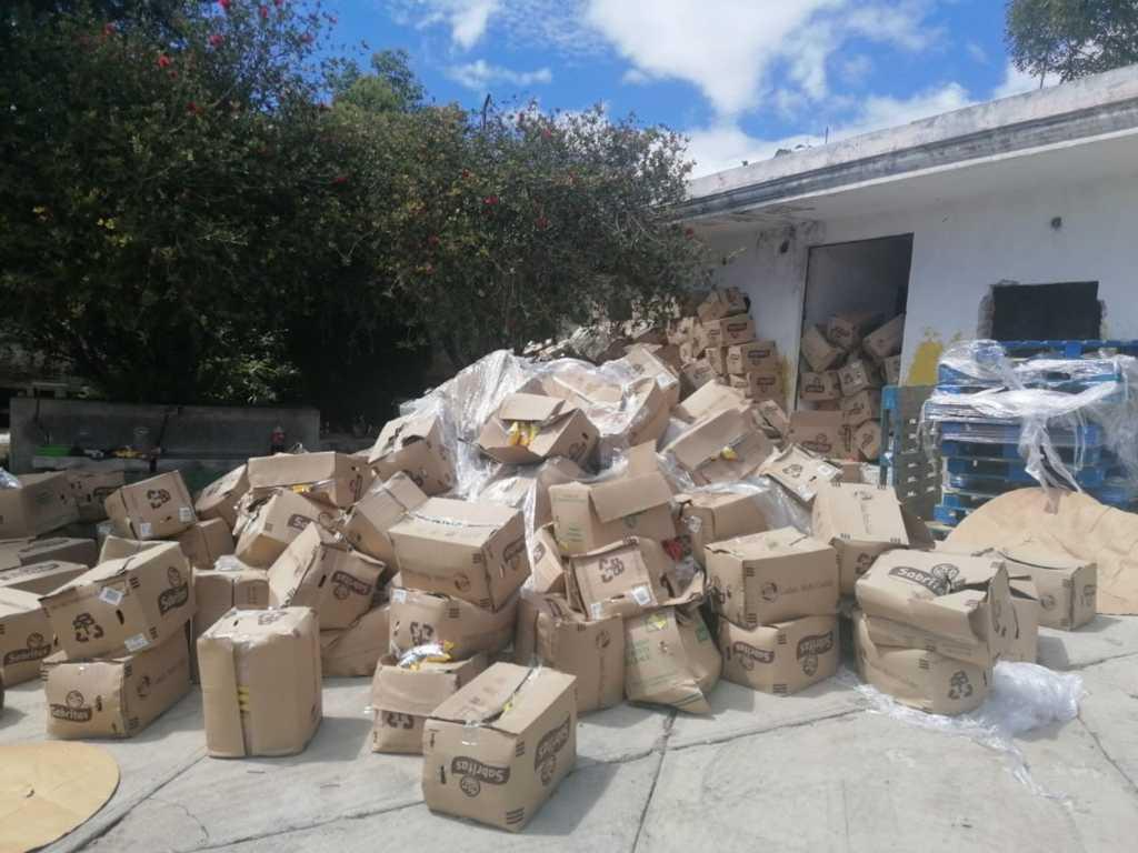 Aseguran dos tracto camiones al cumplimentar una orden de cateo en Tlaxcala