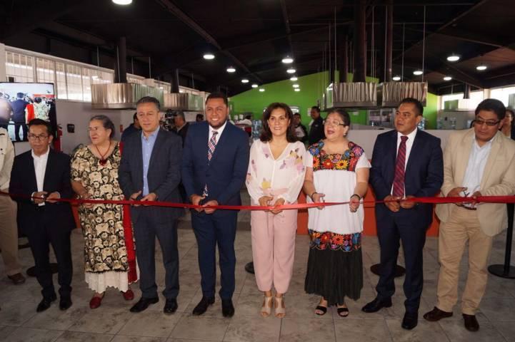 Con inversión de 11 MDP se inaugura el Centro Gastronómico de Tlaxcala