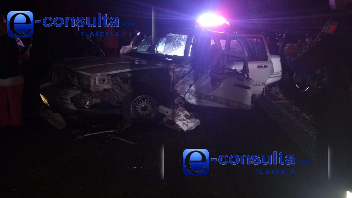 Un prensado, deja choque en la carretera Ixtacuixtla – Españita