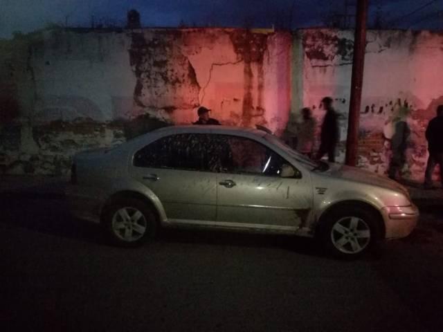Seguridad municipal recupera vehículo que minutos antes habían robado