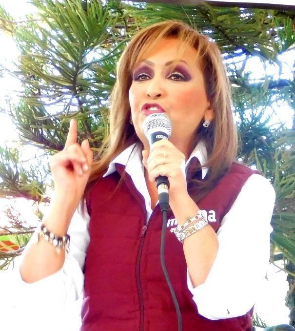 Lorena Cuéllar pide licencia y va por el distrito III