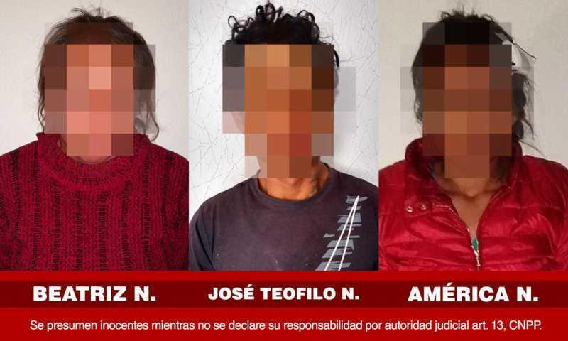Detienen a los tres asesinos que privaron de la vida a dos hermanos en Huamantla