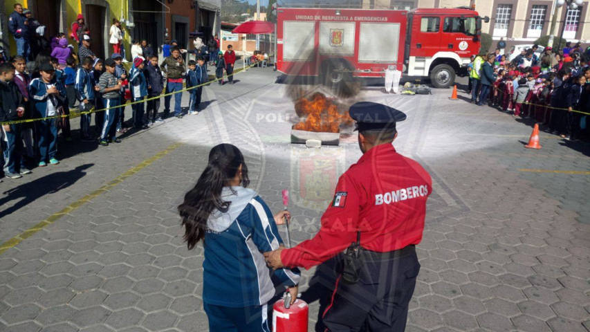 La CES y el Ayuntamiento de Tetla, clausuran la 1er. Semana de Prevención del Delito