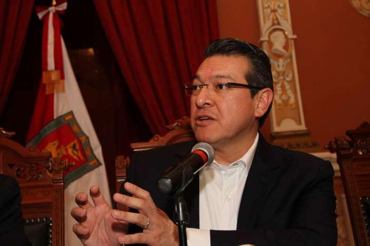 Anuncia Marco Mena programa de reorganización del Gobierno Estatal