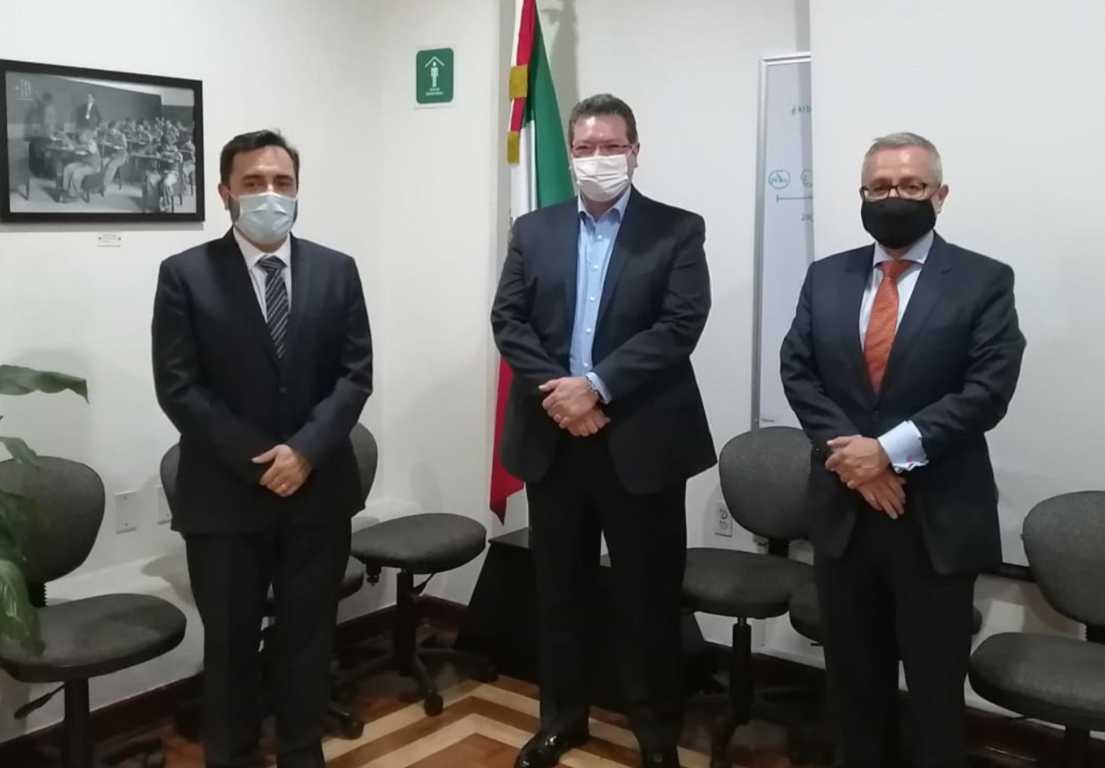Marco Mena, Politécnico Nacional y SEP dan seguimiento a instalación de campus en Tlaxcala