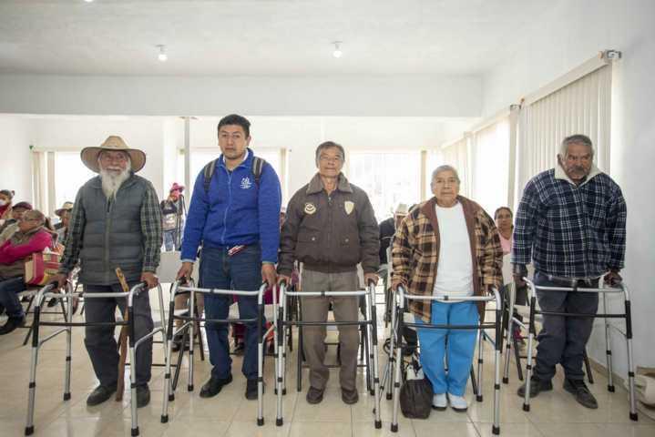 Entrega ITPCD ayudas funcionales a personas con discapacidad