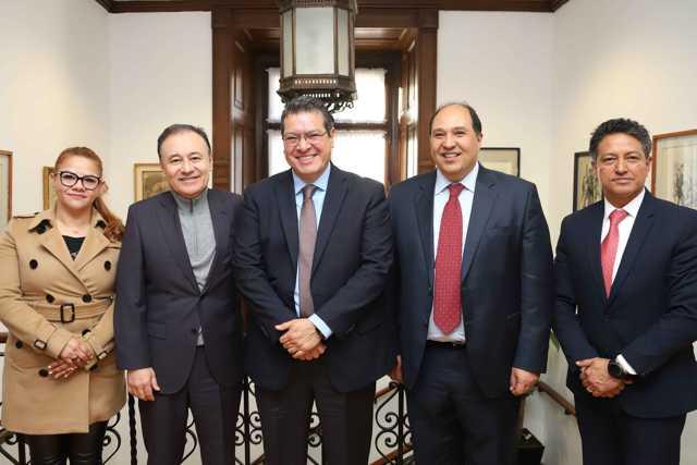 Marco Mena y  Gabinete De Seguridad Federal fortalecen coordinación para Tlaxcala