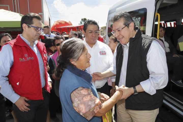 Realizan Ruta Por Tu Salud en San José Teacalco