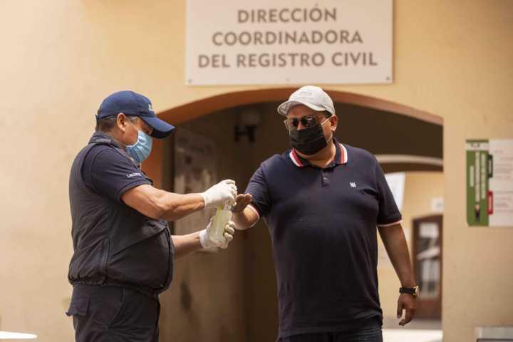 Mantiene Registro Civil del Estado en operación servicios prioritarios