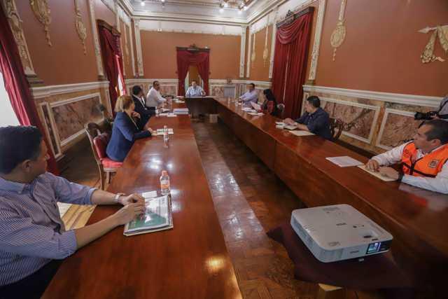 Marco Mena anuncia refuerzo de patrullajes y vigilancia por emergencia sanitaria