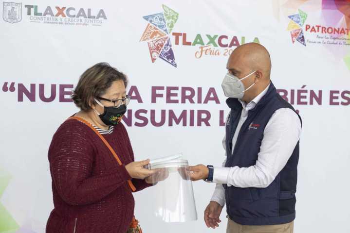 Presenta patronato de feria campaña: Nuestra Feria También Es Consumir Local