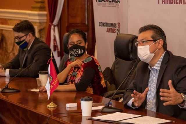 Marco Mena y Cultura Federal acuerdan recuperación del Palacio De Cultura