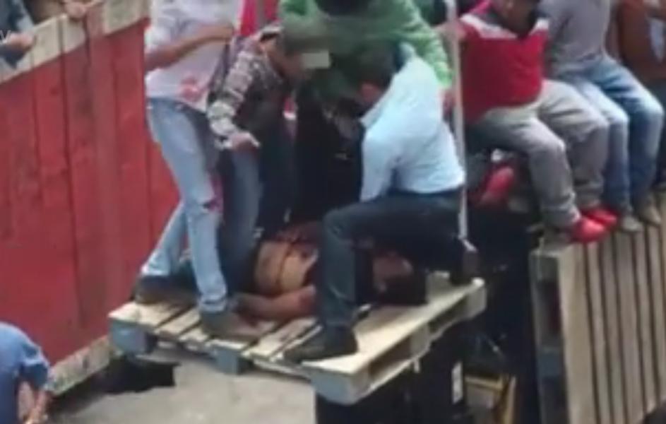 Deja 'huamantlada' 19 heridos, dos de gravedad